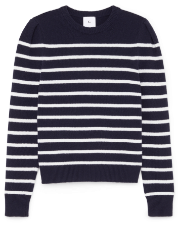 antoniadis puff-sleve mariner sweater