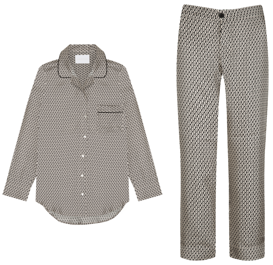 asceno silk pajamas