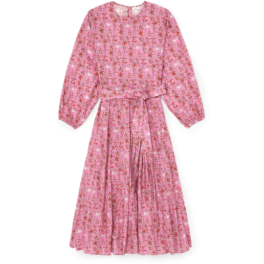 Rhode Devi Dress in Pink Eden
