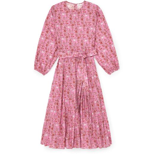 Rhode Devi Dress in Pink Eden
