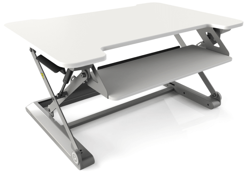Inmovement Standing Desk in White