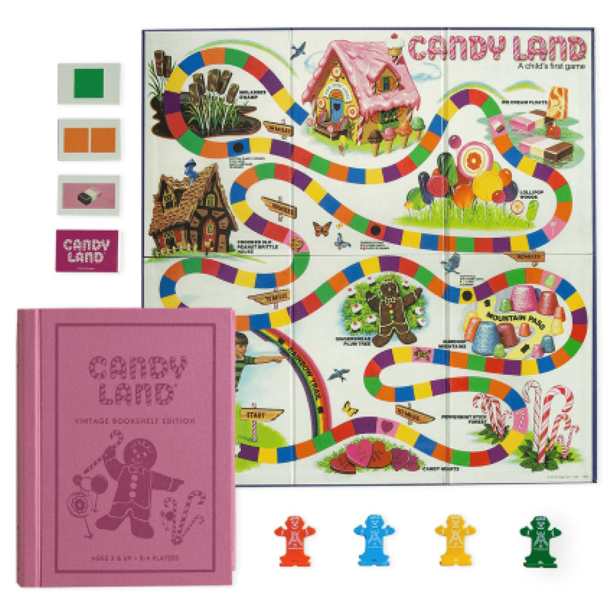 CANDY LAND VINTAGE BOOKSHELF EDITION