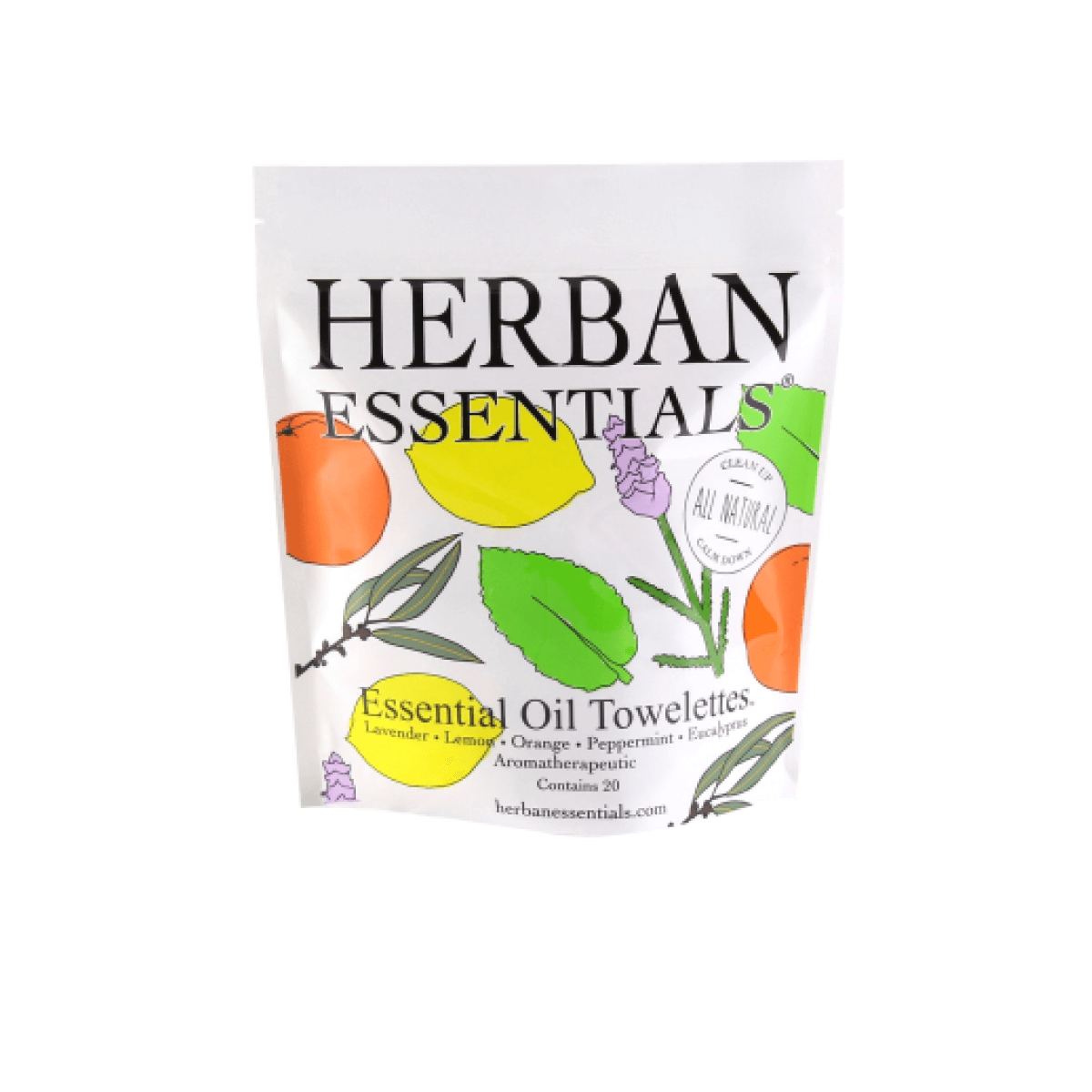 HERBAN ESSENTIAL OIL TOWELETTE