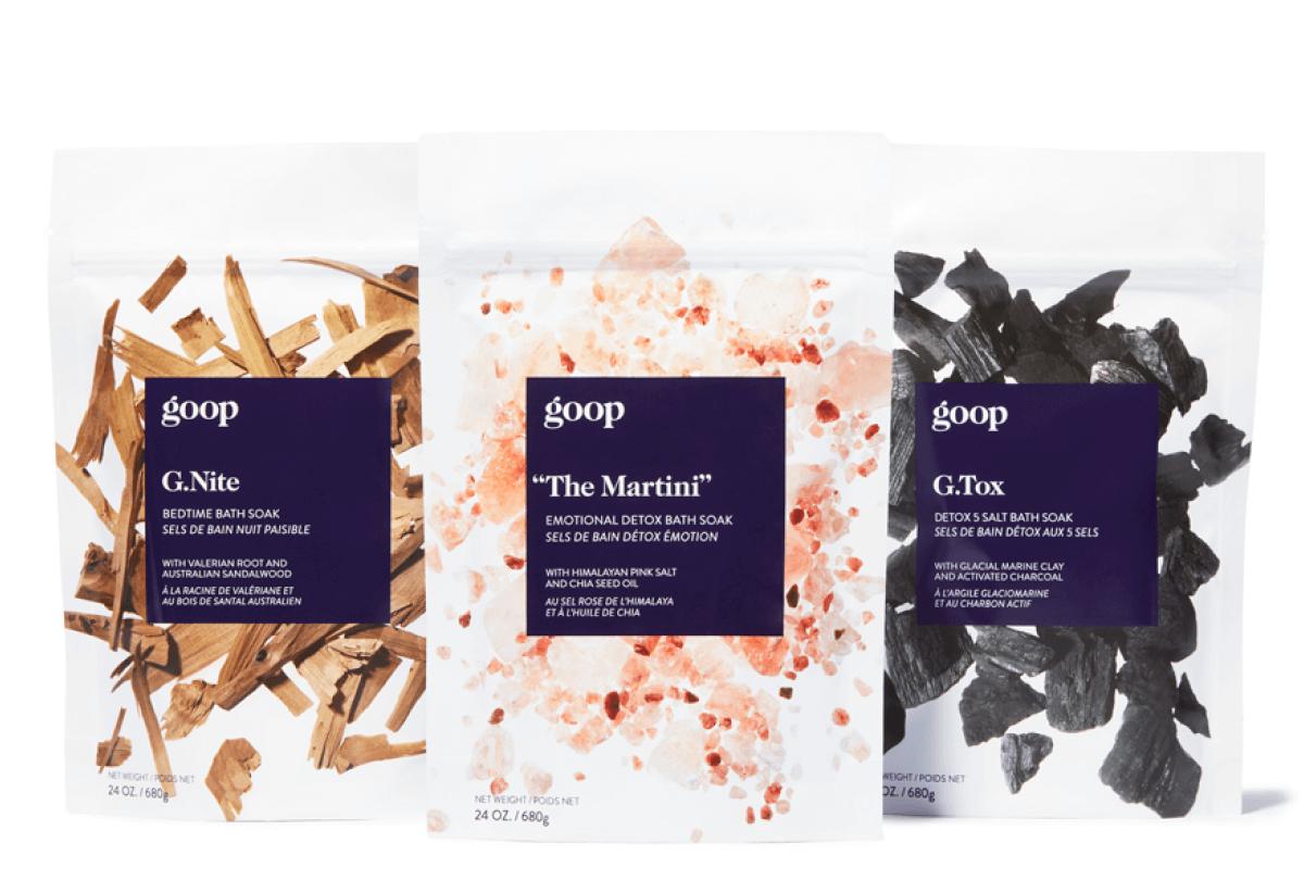 goop Beauty G. Soak set