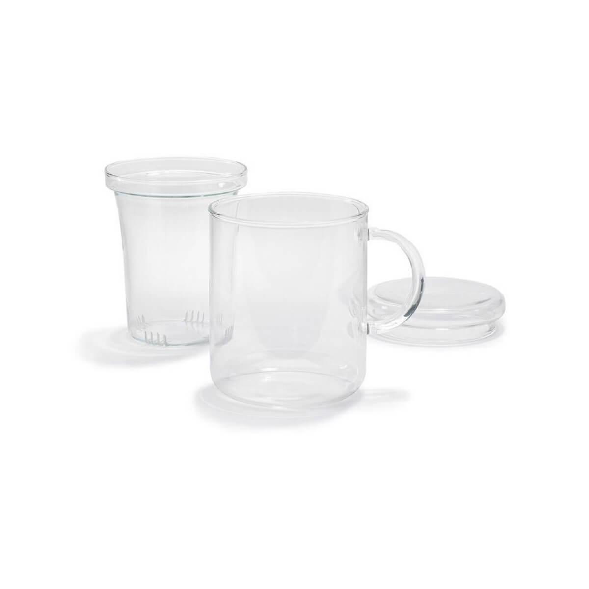 Trendglas JENA German Glass Tea Cup with Strainer