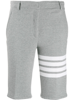 THOM BROWNE gray shorts