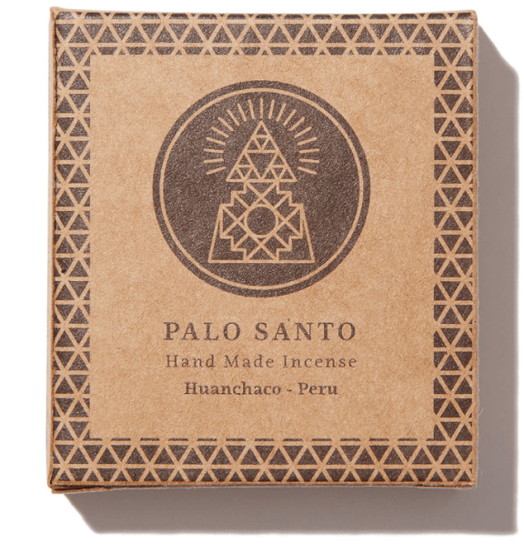 Incausa, Palo Sant Wood Hand-Pressed Incense