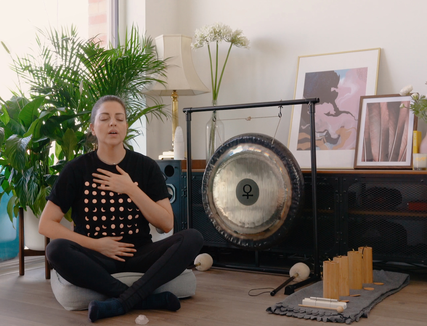 Morning Reiki Meditation  <br>Jasmin Harsono</em>