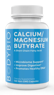 BodyBio Calcium/Magnesium Butyrate