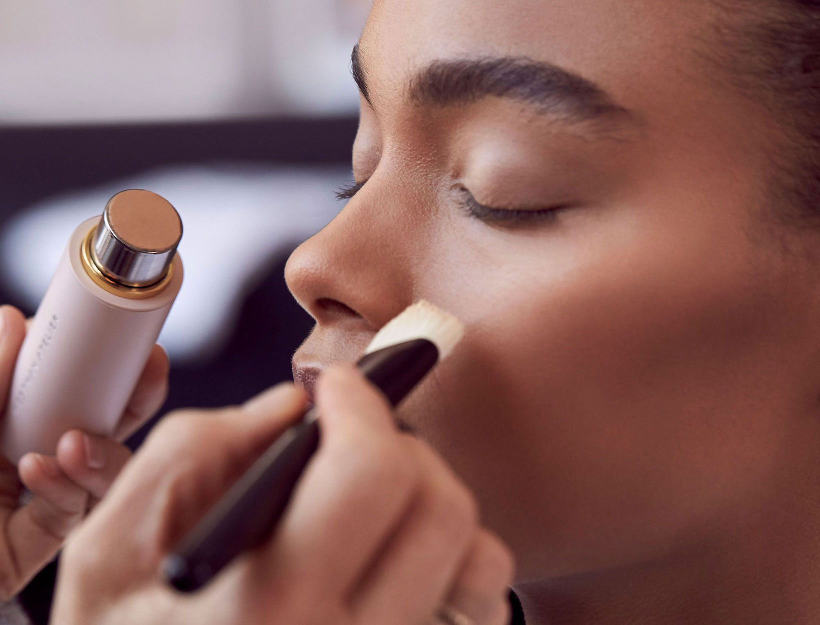 For the most natural look, use a brush – Gucci Westman's easy-to-follow guide