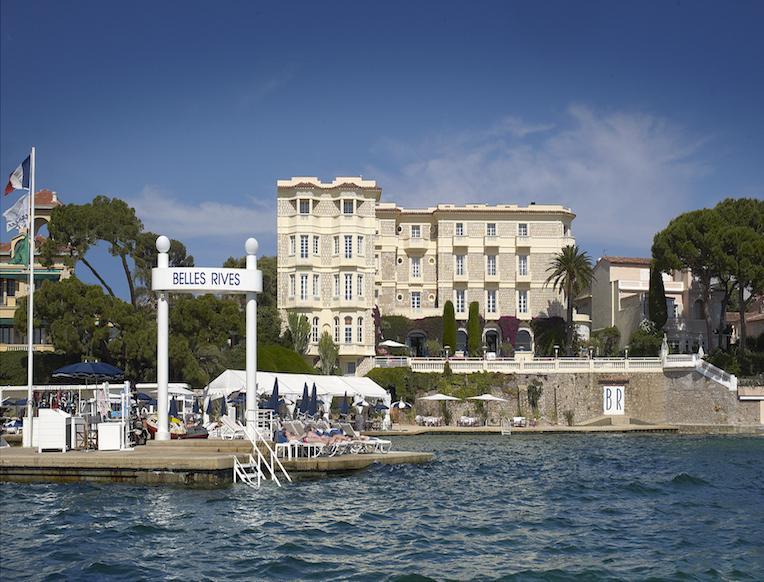 Hôtel Belles Rives <br>French Riviera, Perancis</em>