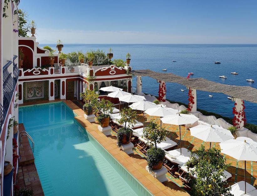 Le Sirenuse<br><em> Amalfi Coast, Italy</em>