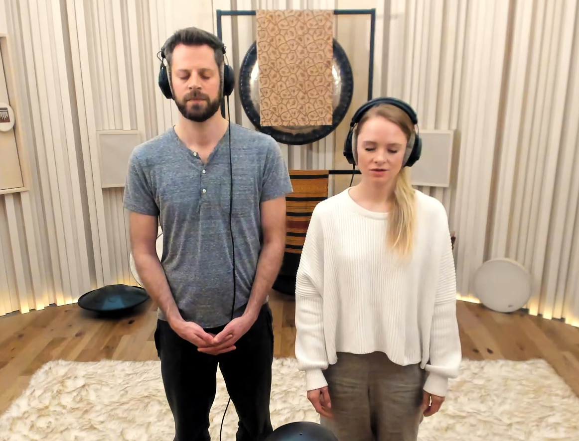 A Binaural Sound Meditation for Releasing Stress and Anxiety <br><em>The Dojo Upstate</em>