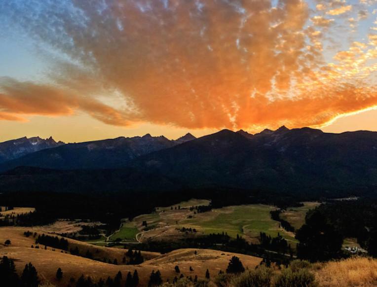Triple Creek Ranch <br>Montana, Amerika Syarikat</em>