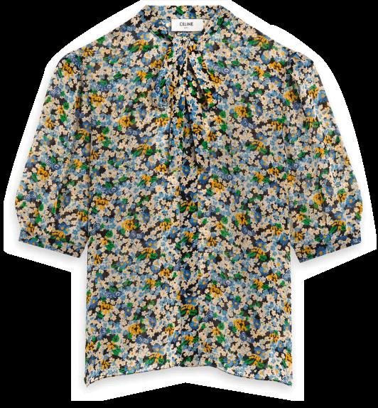 celine blouse