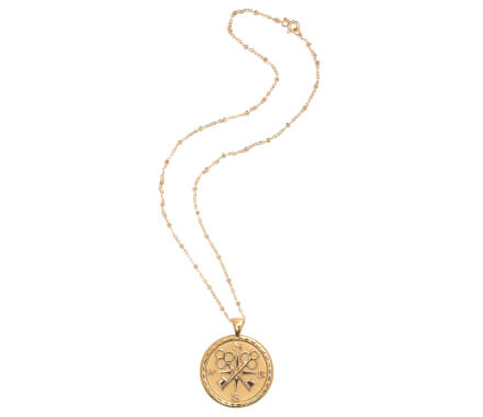 FOREVER COIN PENDANT NECKLACE