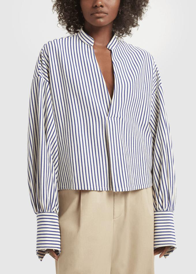 model wearing shirt