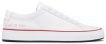 white Common Projects sneakers