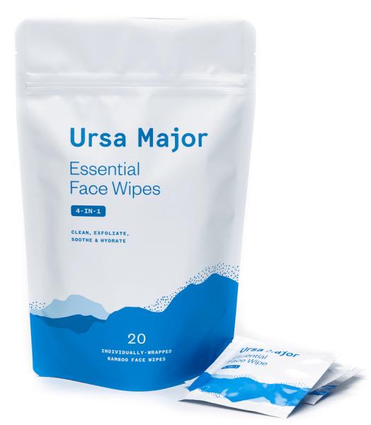 Ursa Major face wipes