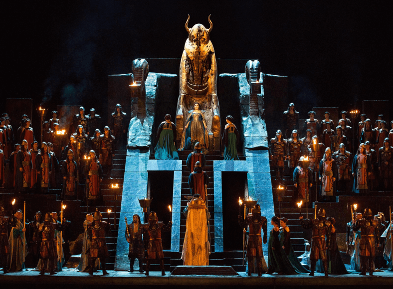 The Metropolitan Opera nightly livestream