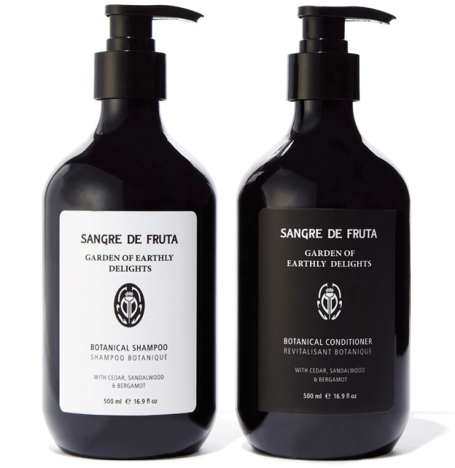 Sangre de Fruta Garden of Earthly Delights Botanical Shampoo & Conditioner