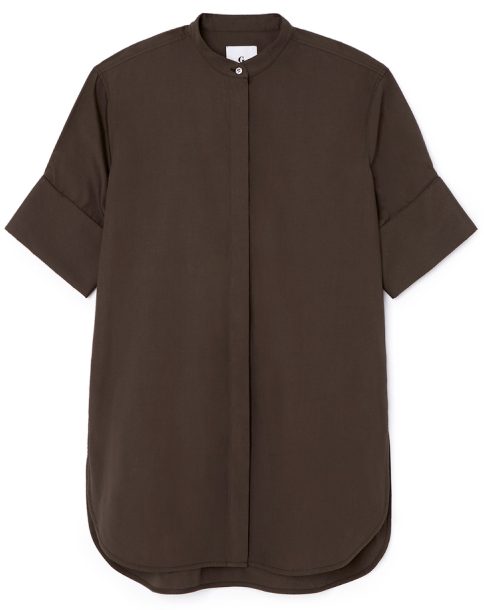 G. Label DOLLY CUFF-SLEEVE BUTTON-UP