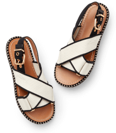 black and white Marni sandals