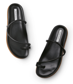 black Emme Parsons sandals