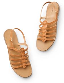 leather Mansur Gavriel sandal
