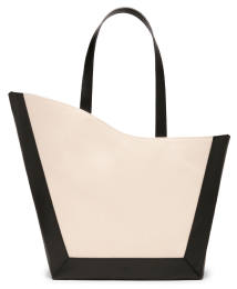 black and white ATP Atelier tote