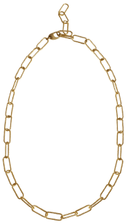 gold Laura Lombardi chain necklace