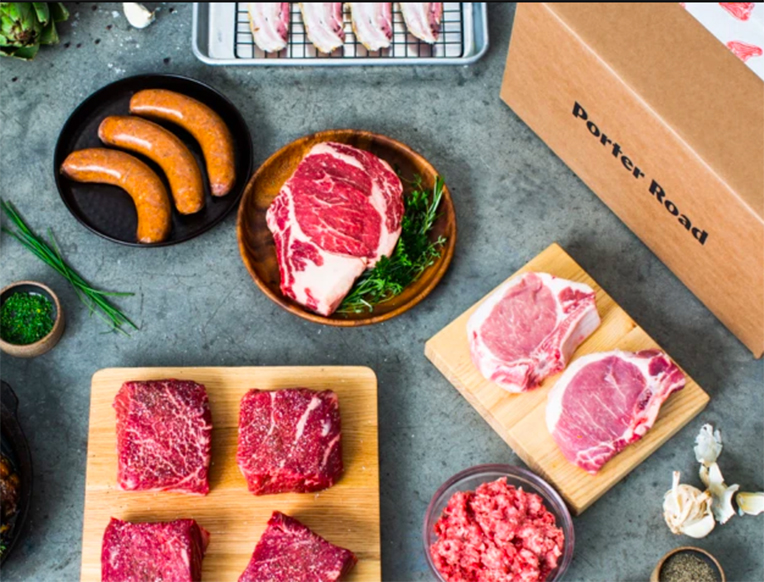 Porter Road Sustainable Meat Box