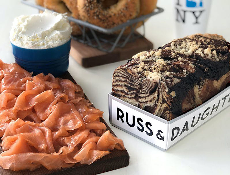 Russ & Daughters New York Brunch