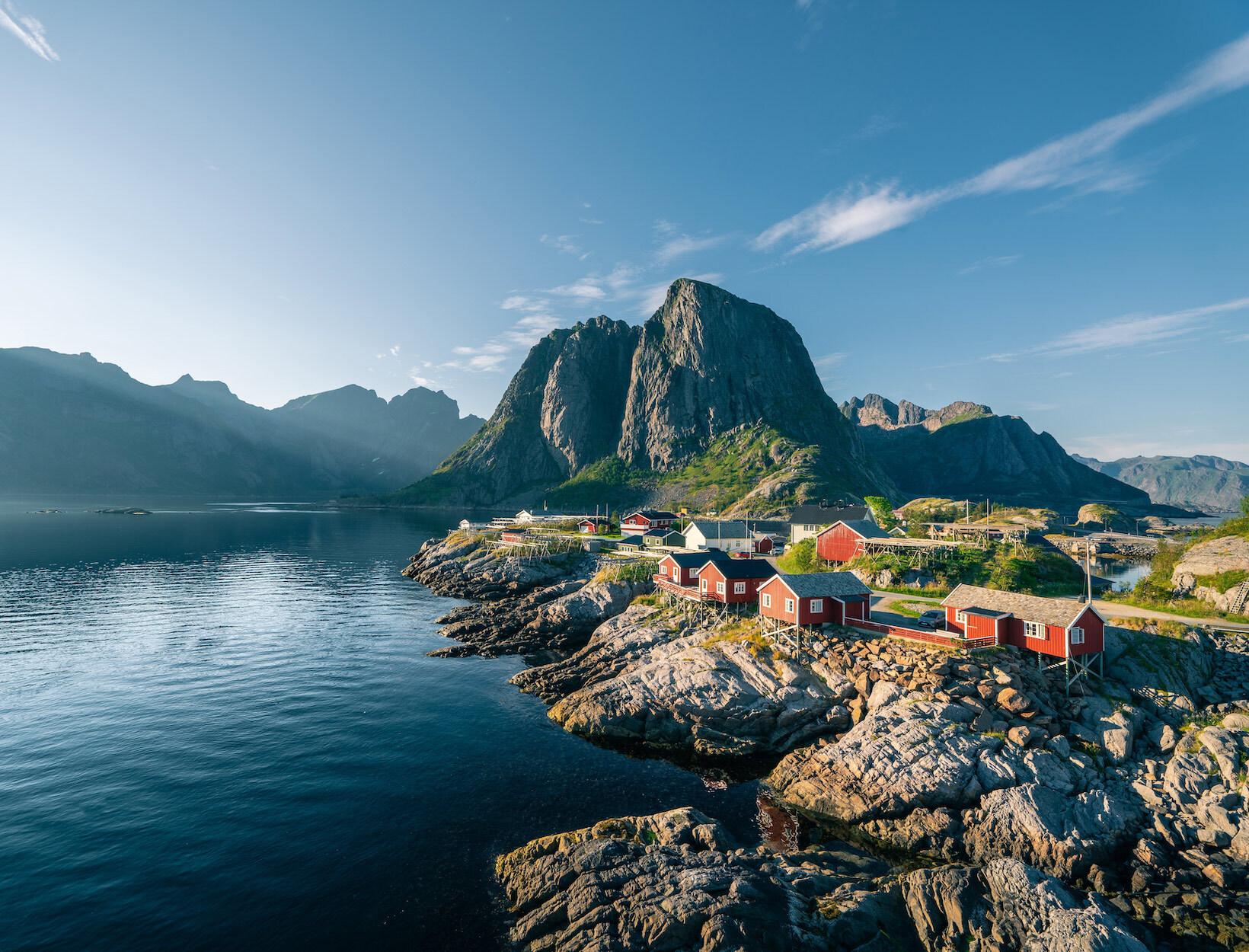 Lofoten Islands <br>Norway</em>
