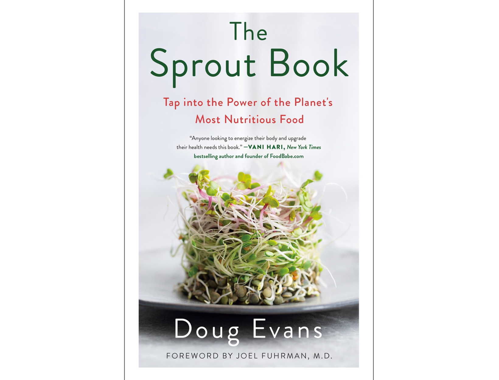 <em>The Sprout Book</em> by Doug Evans