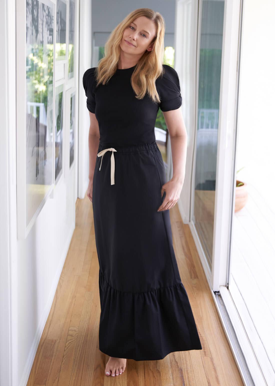 Simone Tiered Skirt