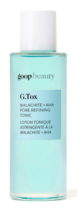 G.Tox Malachite + AHA Pore Refining Toni