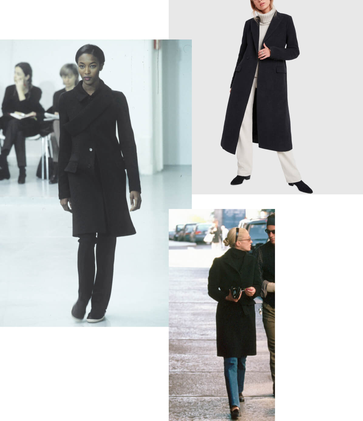 collage of coats