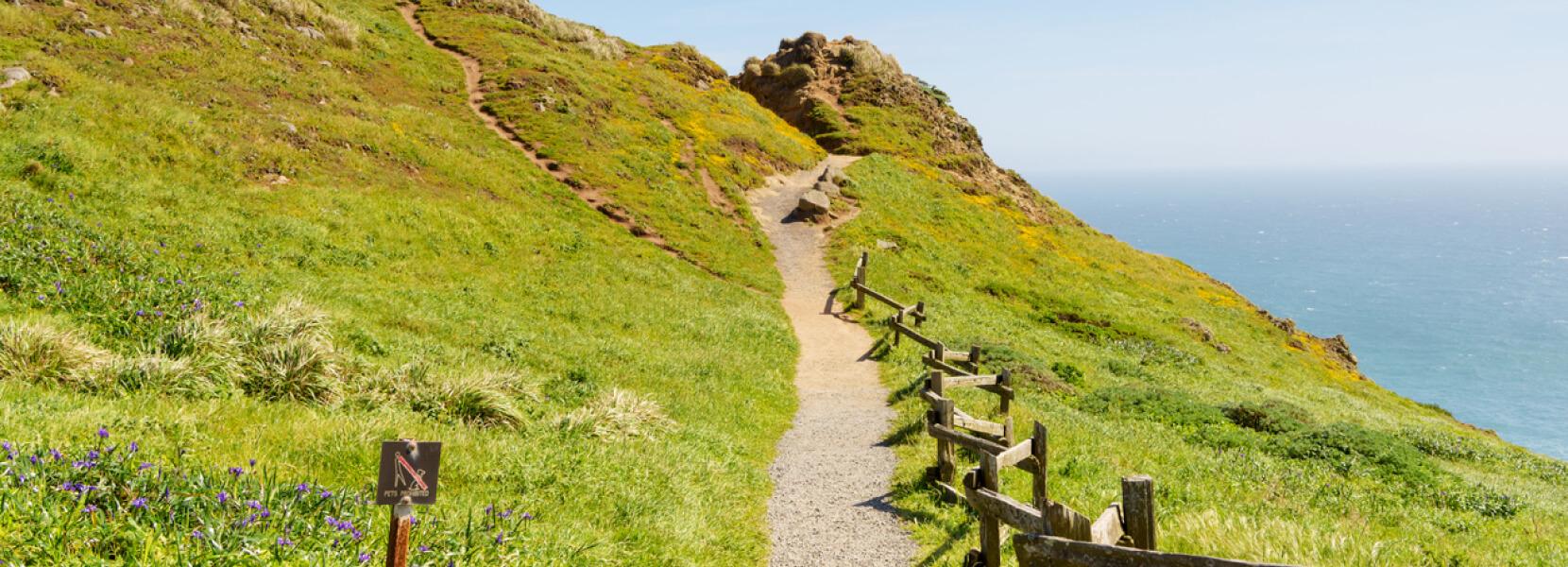 hillside hike