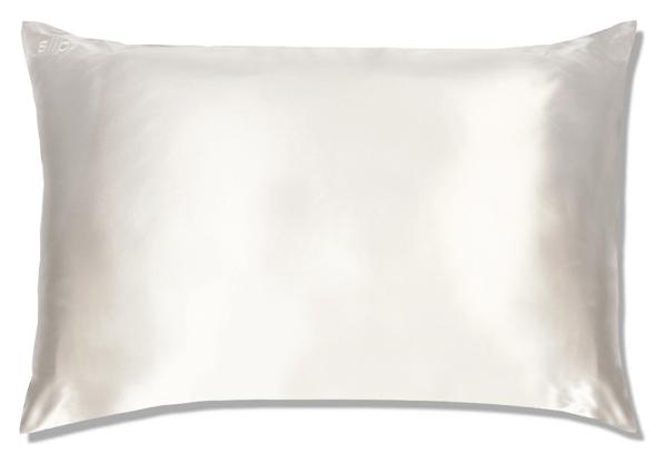 Slip White Queen Pillow Case
