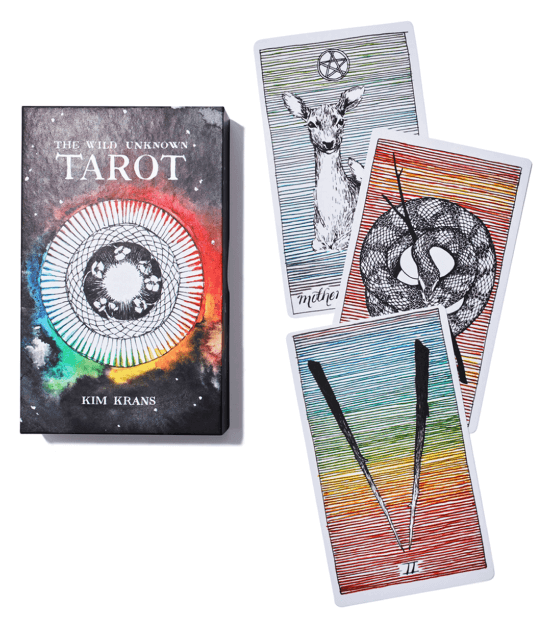The Wild Unknown THE WILD UNKNOWN TAROT DECK AND GUIDEBOOK (OFFICIAL KEEPSAKE BOX SET)