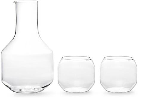 goop x R+D Luisa Velasca Carafe and Set of 2 Glasses