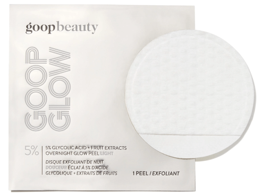 goop Beauty GOOPGLOW 5% Glycolic Acid Overnight Glow Peel