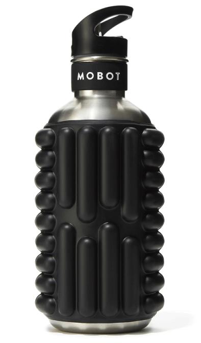 Mobot BLACK FOAM ROLLER WATER BOTTLE BIG BERTHA 40OZ
