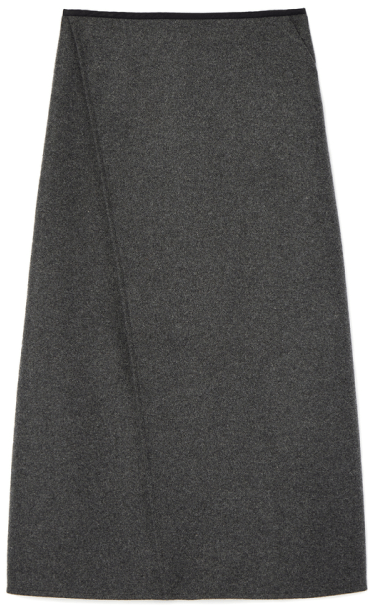 G. Label LLEWELLYN WRAP SKIRT