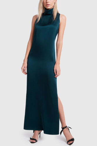 g. label teal dress