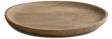 Roman and Williams Guild Teak Platter
