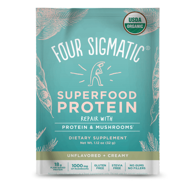 Four Sigmatic SUPERFOOD PROTEIN PACKETS,