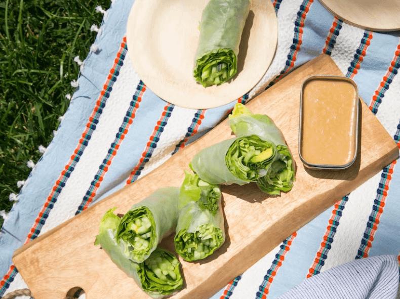 Summer Salad Rolls