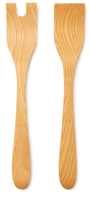Farmhouse Pottery CRAFTED SALAD SERVERS